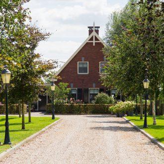 Woning met bijgebouw te Stolwijk