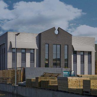 Bedrijfsgebouw te Reeuwijk