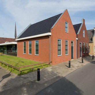 Kerkgebouw en zaalruimte te Stolwijk