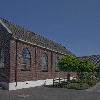 Kerkgebouw te Nieuwerkerk aan den IJssel