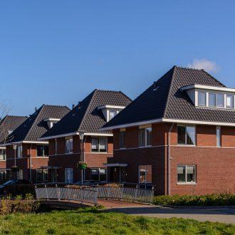 Vrijstaande woningen Bloemenhof te Stolwijk