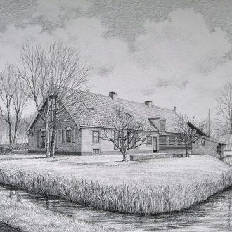 Woonboerderij te Stolwijk